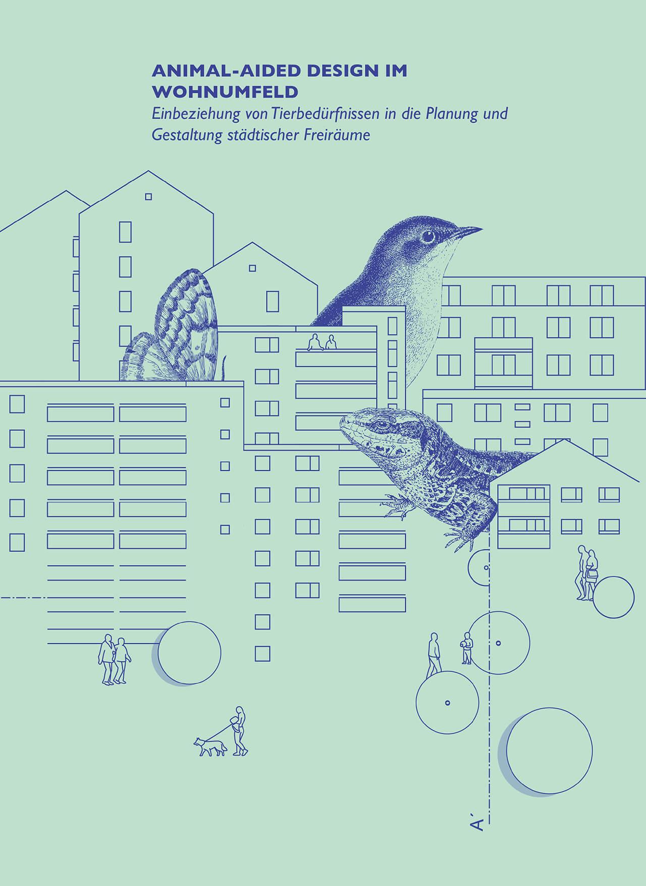 Animal-Aided Design im Wohnumfeld – Graphic by Sophie Jahnke